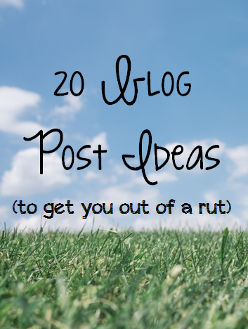 blog ideas pin