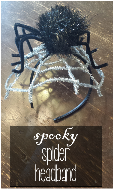 Spooky Spider Headband (how to)